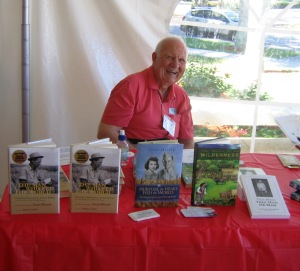 Hesser at Naples Press Club Authors & Books Festival, April 2008