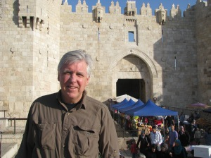 Mike Kelly in Jerusalem